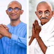 Michel Gbagbo serait-il le Mahatma Gandhi ivoirien? La ressemblance entre eux deux est frappante!