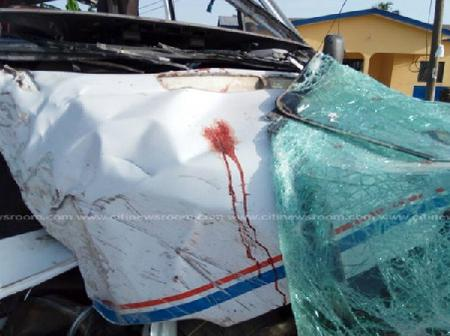 Another Accident On The Kumasi Road; Viewers Discretion At Risk(Watch Video)