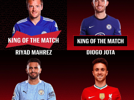 Kings of the Match Award for GW 10: See the Full List of 10 Players Who Made it to the List