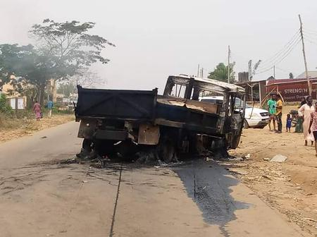 Truck Crushes 5 Secondary School Students To Death In Ibadan