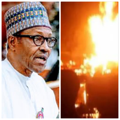 Today's Headlines: Fire Breaks Out In Aso Rock, Soldiers Overcome Ambush From Boko Haram