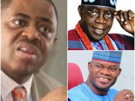 Opinion: Femi Fani-Kayode Wants Yahaya Bello To Be President