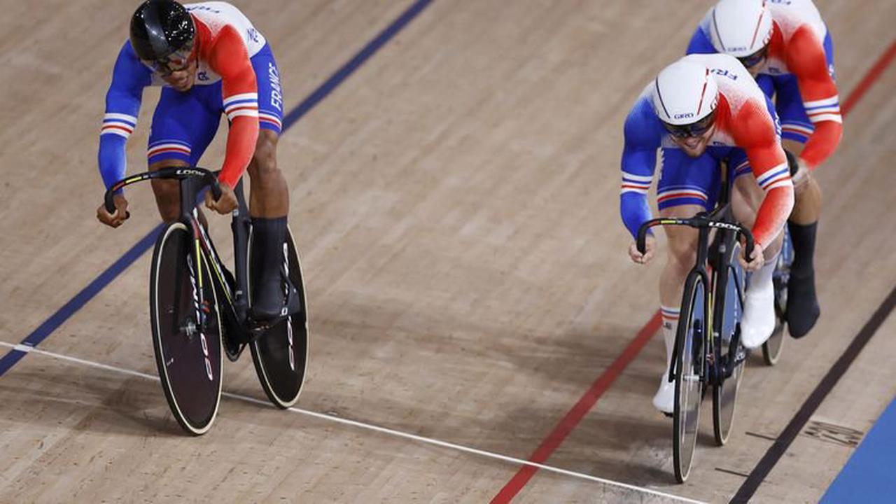 JO, Cyclisme sur piste – Médaille de bronze pour les Bleus en vitesse par équipe