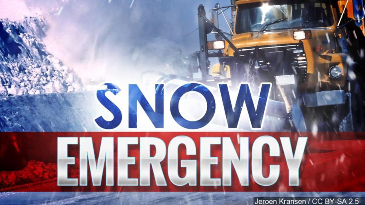 City of Rockford declares snow emergency ahead of winter storm