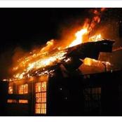 Tharaka Boys High School Catches Fire !