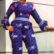 Stunning French Ankara Jumpsuit Styles For African Ladies To Rock This April 2021