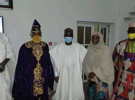 SA On Media To Sokoto State Gov, Basirat Meets Oluwo, Tambuwwal
