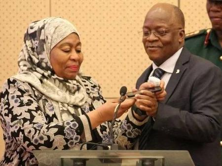 What Uhuru Said in a Phone Call After Magufuli Openly 'Salivated' Over a Kenyan Female Leader- VIDEO