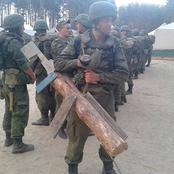 A look at 20 funny pictures of Russian Troops