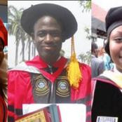 Meet Nigeria's 5 Youngest Ph.D. Holders, The Oldest Of Them was Just 26 Years Then.