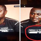 See What Was Spotted On The Cloth Of A Pastor In A Nollywood Movie That Is Stirring Reactions Online