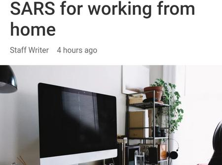 How to claim back SARS money when you work from home