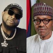 Davido and other Nigerians call for Buhari's resignation after protesters were killed in Lagos