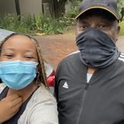 Mbali bumped into Ramaphosa while jogging but there was no Social Distancing