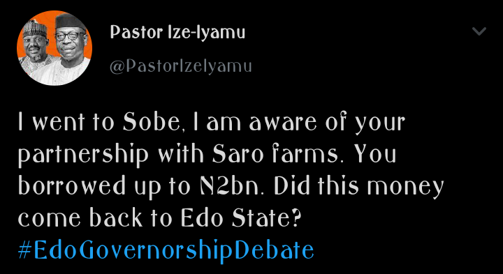 edo2020: 5 allegations made by ize iyamu on obaseki corrupt governance in edo state Edo2020: 5 Allegations Made By Ize Iyamu on Obaseki Corrupt Governance in Edo State adf6c03fe6c3e61fc571eb03a0dae7a6 quality uhq resize 720 edo2020: 5 allegations made by ize iyamu on obaseki corrupt governance in edo state Edo2020: 5 Allegations Made By Ize Iyamu on Obaseki Corrupt Governance in Edo State adf6c03fe6c3e61fc571eb03a0dae7a6 quality uhq resize 720