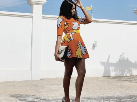 Yvonne Nelson looks stunning in these beautiful Ankara outfits