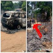 Again Gunmen Attack Police Checkpoint in Anambra, Set Patrol Vans Ablaze, Cart Away Arms