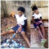 """""""God Save Her""""- See What A Young Girl Was Caught Doing On The Street That Got People Talking"""