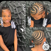 Beautiful Mummy, Let Your Daughter Look Like A Princess With These Cute And Outstanding Hairstyles