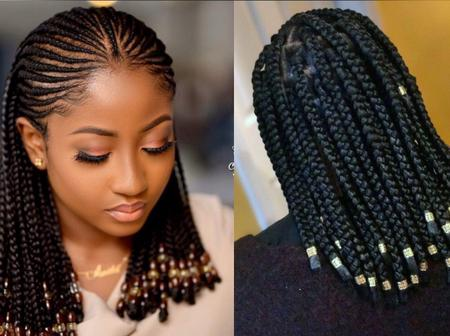 Dear Mothers, Checkout These Lovely Short Braid Hairstyles (Photos)