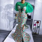 50 Sophisticated Decent Ankara Long And Short Gown Styles For Matured Women