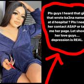 After The Lady Who Tattooed Ka3na Name On Her Body Was Hospitalized, See What Bobrisky Planned To Do