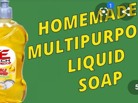 How to make a liquid soap at home for your own benefits.