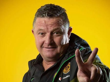 Good news for Gavin Hunt besides leading Chiefs to the quarter finals of the Champions League