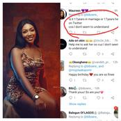 Mixed reactions as lady share her 17th birthday pictures on Twitter.