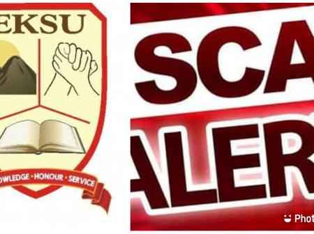 Scam Alert: All Eksu Students Should Take Note Of This Important Notice