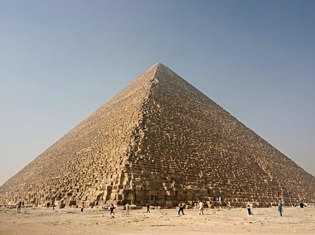 Check Out What Inside The Great Pyramid Of Giza In Egypt Look Like (Photos)
