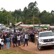 Uhuru's Sparse Crowd in Nyeri That Has Sparked Mixed Reactions