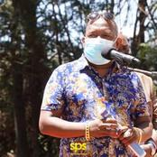 Nairobi Ex-Governor  Mike Sonko Joined Uasin-Gishu Residents During Sending Off A Prominent Farmer