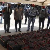 Abidjan : plus de 25 milliards de francs de cocaïne a été saisi par la gendarmerie