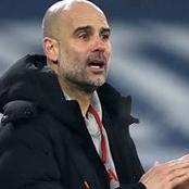 Check Out What Pep Guardiola Said About Edison Cavani Ahead Of Manchester Derby.