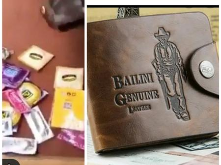 Contents of a lost but found wallets revealed (Video)