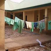 After Gunmen Abduct Over 300 Nigerian Schoolgirls, See How They Left The School (photos)