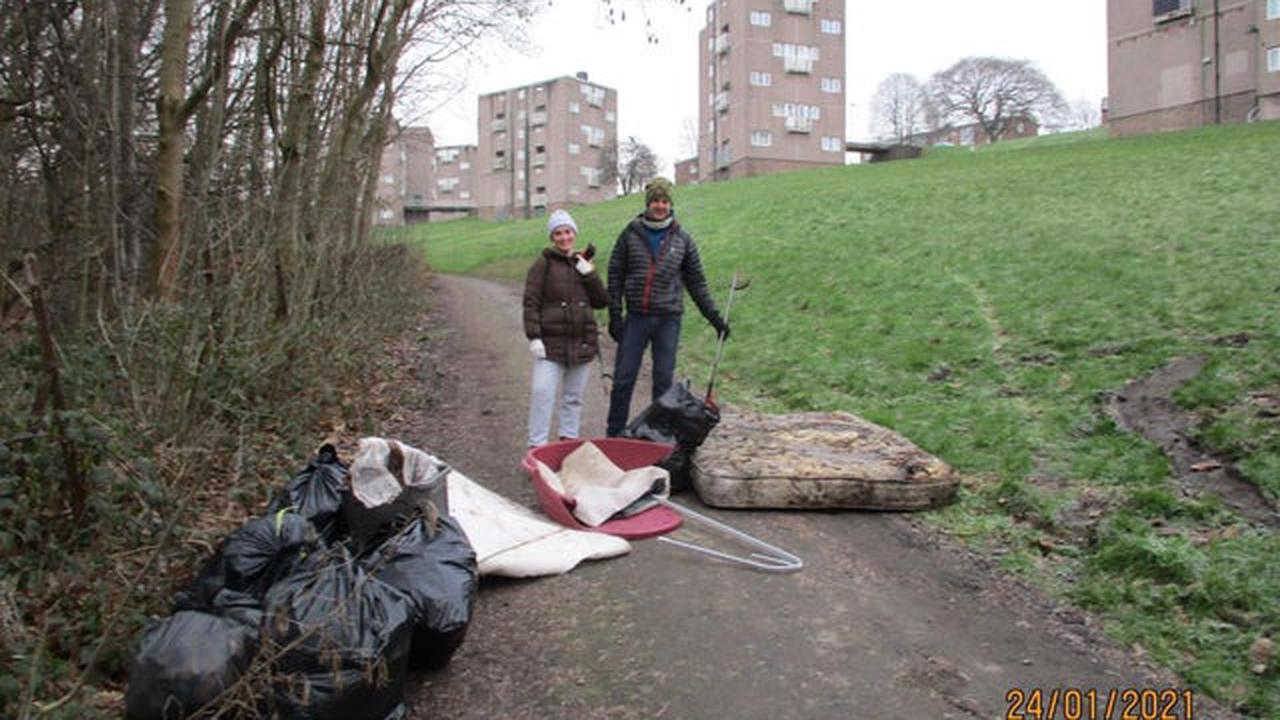 The litter picking groups tackling the problem in Yorkshire and Lincolnshire