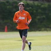 The Manchester United youth player added to the Europa League squad