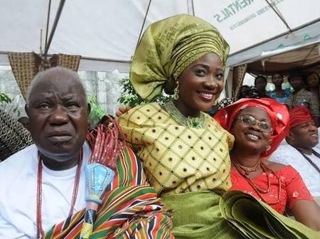 Meet the lovely parents of Mercy Johnson the famous Nigerian Actress