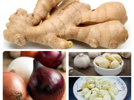 Natural Healing: Include Fresh Ginger, Garlic and Onions In Your Daily Meals