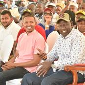 Ruto Ally's Photo of a Disabled man Siting Next to Dp Backfires