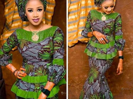 For you to look unique in that occasions, check out these wonderful African dress styles