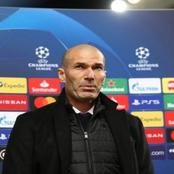 Zinedine Zidane's short response to facing Chelsea in the Champions League semi finals