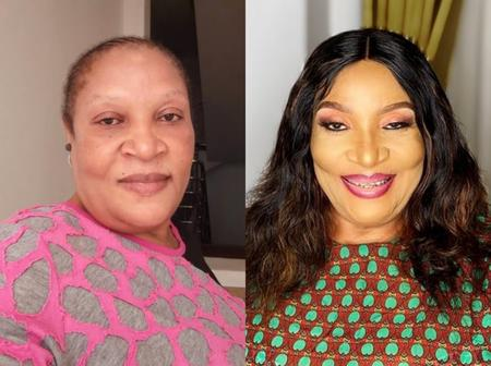 Ngozi Nwosu Looks Totally Different When She Applies Makeup (See Photos)
