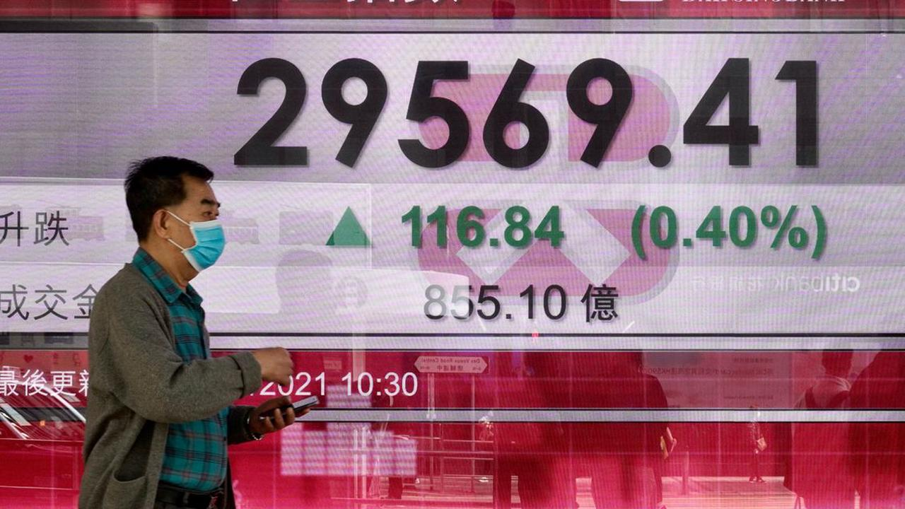 Asian markets gain as U.S. bond prices ease