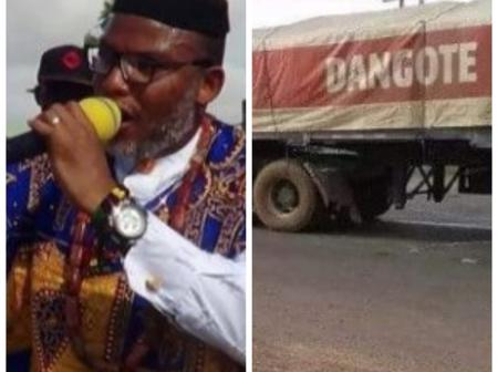 Check Out The Reason Why IPOB Leader Called Dangote Nigeria's Biggest Problem
