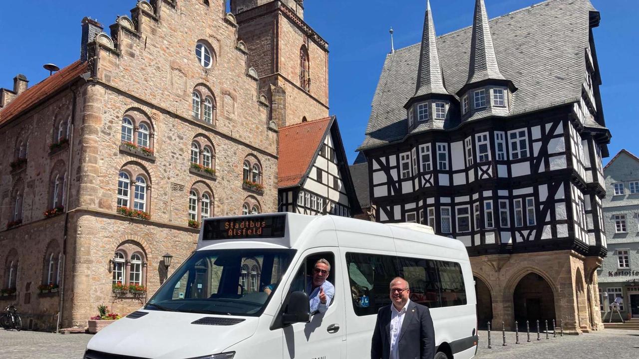 Neuer Stadtbus im Einsatz | Vogelsbergkreis