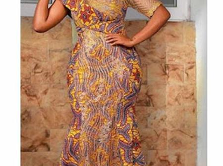 Latest Anakra Long Gown Styles For Classy Ladies.