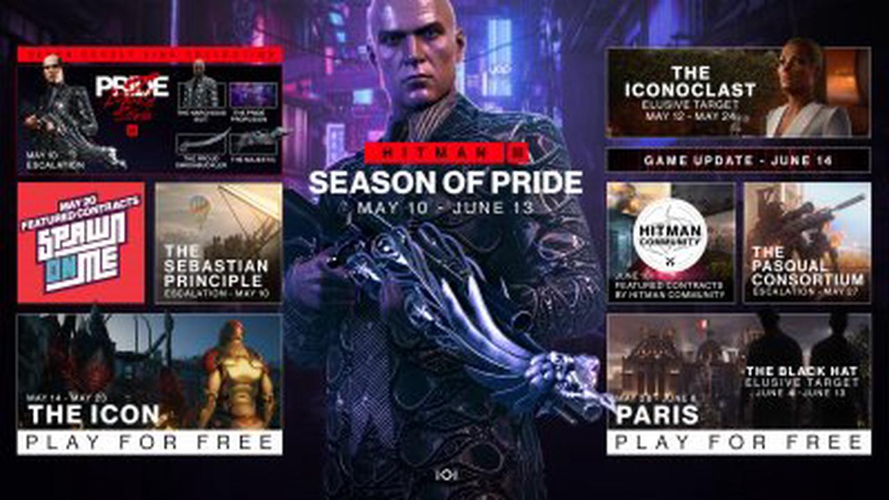 Hitman 3 : la Season of Pride lancée pour 2 Cibles Fugitives et plus encore à venir, une mise à jour avec du 60 fps sur Switch aussi